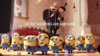 XFINITY X1 TV Spot, 'Despicable Me 3: Secret Weapon' - 447 commercial airings