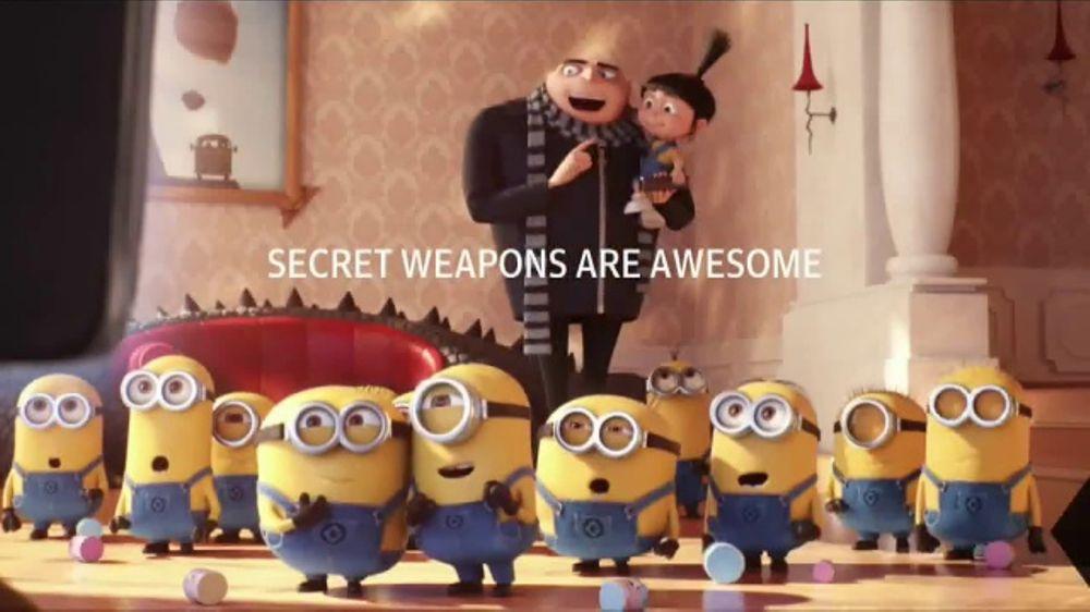 Xfinity x1 tv commercial 39 despicable me 3 secret weapon 39 - Despicable me xfinity ...