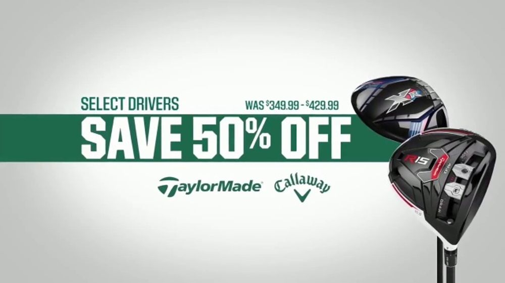 273932b8c3da Dick's Sporting Goods Father's Day Deals TV Commercial, 'Drivers & Golf  Balls' - iSpot.tv