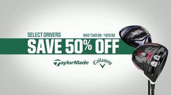 Dick's Sporting Goods Father's Day Deals TV Spot, 'Drivers & Golf Balls' - Thumbnail 3