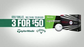Dick's Sporting Goods Father's Day Deals TV Spot, 'Drivers & Golf Balls' - Thumbnail 5