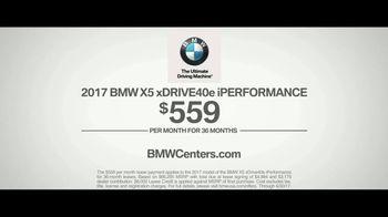 2017 BMW X5 xDrive40e iPerformance TV Spot, 'Dual Engine Technology' [T2] - Thumbnail 8
