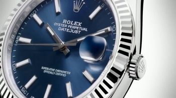 Rolex Oyster Perpetual Datejust 41 Watch TV Spot, '2017 U.S. Open' - Thumbnail 1
