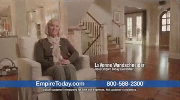 Empire Today Buy One Get Two Free Sale TV Spot, 'Great Experience'
