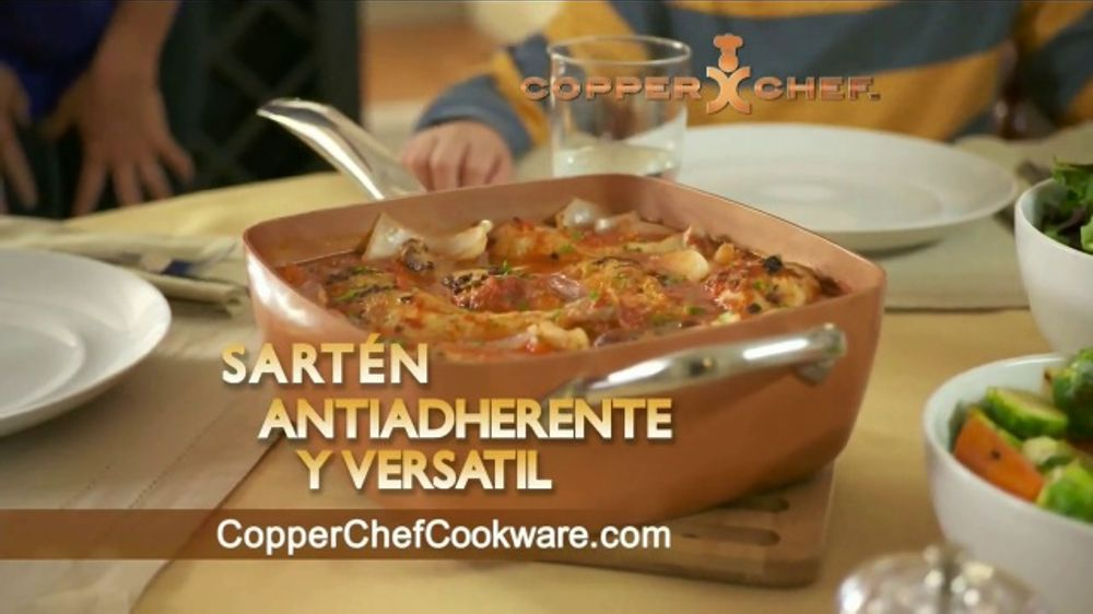 Copper Chef Square Pan Tv Commercial Sart 233 N Versatil