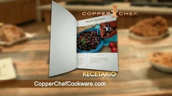 Copper Chef Square Pan TV Spot, 'Sartén versatil' [Spanish] - Thumbnail 10
