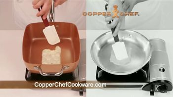 Copper Chef Square Pan TV Spot, 'Sartén versatil' [Spanish] - Thumbnail 3
