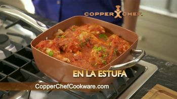 Copper Chef Square Pan TV Spot, 'Sartén versatil' [Spanish] - Thumbnail 5