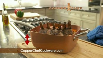 Copper Chef Square Pan TV Spot, 'Sartén versatil' [Spanish] - Thumbnail 6