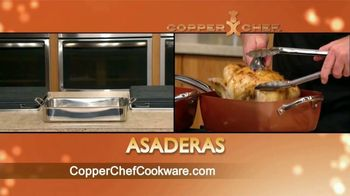 Copper Chef Square Pan TV Spot, 'Sartén versatil' [Spanish] - Thumbnail 7