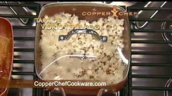 Copper Chef Square Pan TV Spot, 'Sartén versatil' [Spanish] - Thumbnail 9