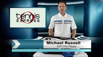 Tennis Express TV Spot, 'Babolat Bag Check' Featuring Michael Russell - 30 commercial airings