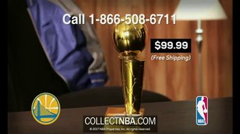 CollectNBA.com TV Spot, '2017 NBA Champions: Warriors Collectible' - Thumbnail 6