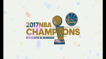 CollectNBA.com TV Spot, '2017 NBA Champions: Warriors Collectible' - Thumbnail 1