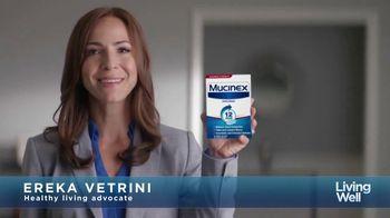 Mucinex Maximum Strength 12-Hour TV Spot, 'Living Well: Excess Mucus' - 17951 commercial airings