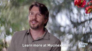 Mucinex Maximum Strength 12-Hour TV Spot, 'Living Well: Excess Mucus' - Thumbnail 7
