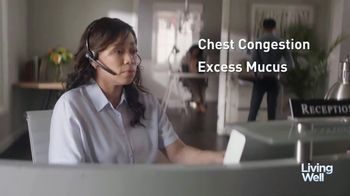 Mucinex Maximum Strength 12-Hour TV Spot, 'Living Well: Excess Mucus' - Thumbnail 2