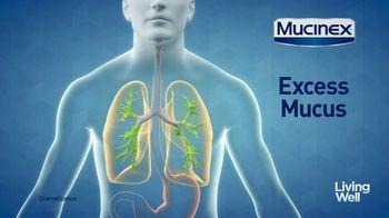 Mucinex Maximum Strength 12-Hour TV Spot, 'Living Well: Excess Mucus' - Thumbnail 3