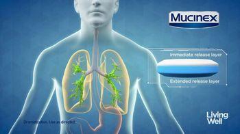 Mucinex Maximum Strength 12-Hour TV Spot, 'Living Well: Excess Mucus' - Thumbnail 5