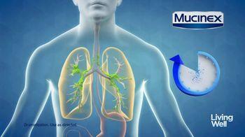 Mucinex Maximum Strength 12-Hour TV Spot, 'Living Well: Excess Mucus' - Thumbnail 6