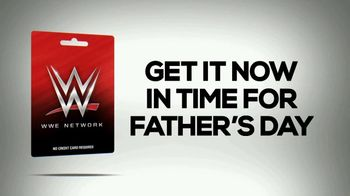 WWE Network Prepaid Gift Card TV Spot, 'Father's Day: Ultimate Gift' - Thumbnail 7