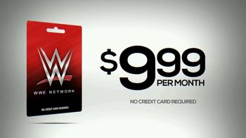 WWE Network Prepaid Gift Card TV Spot, 'Father's Day: Ultimate Gift' - 2 commercial airings