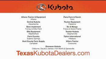 Kubota Orange Opportunity Sales Event TV Spot, 'Take Command: Rebate' - Thumbnail 6