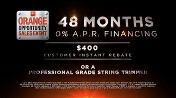 Kubota Orange Opportunity Sales Event TV Spot, 'Take Command: Rebate' - Thumbnail 4