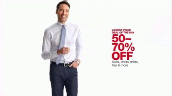 Macy's One Day Sale TV Spot, 'Suits and Accessories' - Thumbnail 10