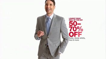 Macy's One Day Sale TV Spot, 'Suits and Accessories' - Thumbnail 9