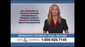 Weitz and Luxenberg TV Spot, 'Monsanto Roundup Legal Helpline' - Thumbnail 2
