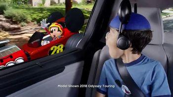 2018 Honda Odyssey TV Spot, 'Disney Junior: Mickey and the Roadster Racers' [T1] - Thumbnail 3