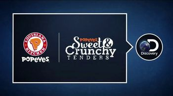 Popeyes Sweet & Crunchy Tenders TV Spot, 'Discovery Channel: Big Easy' - Thumbnail 5
