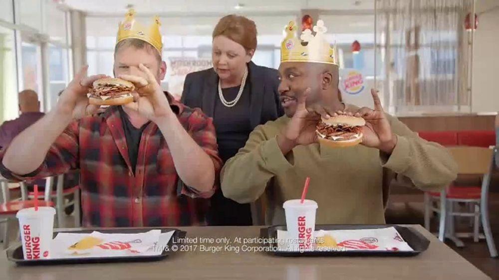 Burger King Mushroom & Swiss King TV Commercial, 'Elegant'