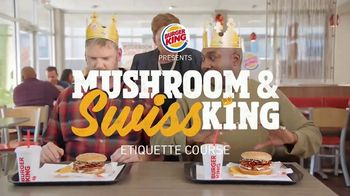Burger King Mushroom & Swiss King TV Spot, 'Elegant' - Thumbnail 1