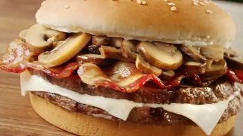 Burger King Mushroom & Swiss King TV Spot, 'Elegant' - Thumbnail 5