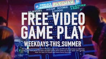 Dave and Buster's TV Spot, 'Blue Lights Mean Free Games' - Thumbnail 2