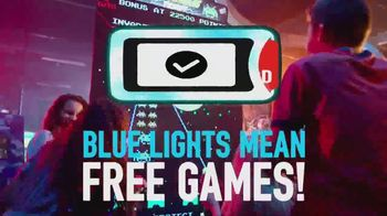 Dave and Buster's TV Spot, 'Blue Lights Mean Free Games' - Thumbnail 6