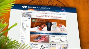 Tennis Warehouse TV Spot, 'French Open Merchandise' - Thumbnail 2
