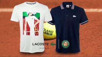 Tennis Warehouse TV Spot, 'French Open Merchandise' - Thumbnail 5