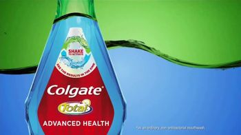 Colgate Advanced Health Mouthwash TV Spot, 'Shake to Clean' - 4845 commercial airings