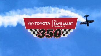 Sonoma Raceway TV Spot, '2017 Toyota Save Mart 350' - Thumbnail 4