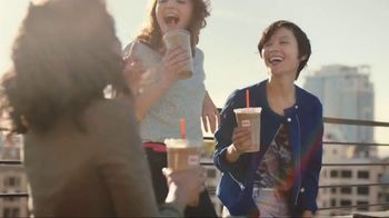 Dunkin' Donuts Frozen Dunkin' Coffee TV Spot, 'Rooftop Escape' - 1329 commercial airings