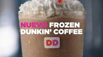 Dunkin' Donuts Frozen Dunkin' Coffee TV Spot, 'Cremoso' [Spanish] - 1754 commercial airings