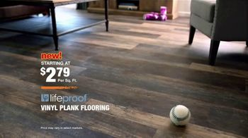 The Home Depot LifeProof Flooring TV Spot, 'Agents of Chaos' - Thumbnail 7