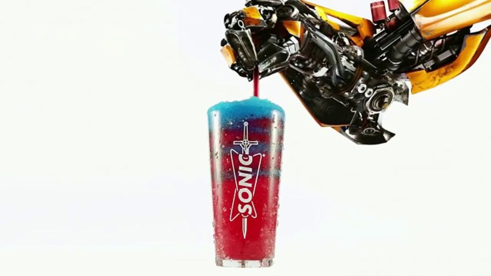 Sonic Drive-In Slushes TV Commercial, 'Transformers: The Last Knight'