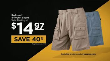 Bass Pro Shops Father's Day Sale TV Spot, 'Cargo Shorts' - Thumbnail 7