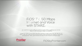 FiOS TV Spot, 'The Entertainment You Demand: Starz' - Thumbnail 7