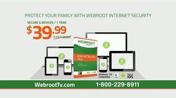 Webroot Internet Security Plus TV Spot, 'Protect Yourself' - Thumbnail 7