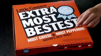 Little Caesars EXTRAMOSTBESTEST Pizza TV Spot, 'Secret Message' - Thumbnail 1